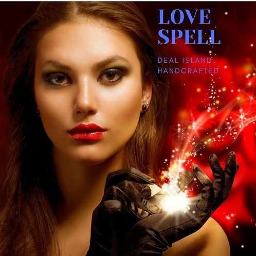 Love Spell - Deal Island Handcrafted Scented Candle - 4 oz., Single