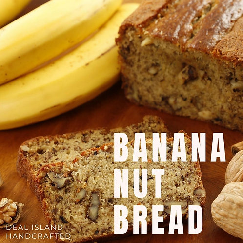 Banana Nut Bread - Deal Island Handcrafted Scented Candle - 4 oz., Single