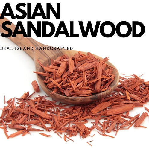 Asian Sandalwood - Deal Island Handcrafted Scented Candles - 4oz., Single