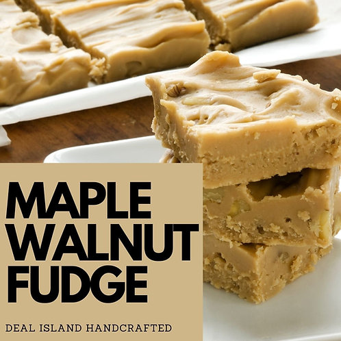 Maple Walnut Fudge - Deal Island Handcrafted Scented Candle - 8oz., Single