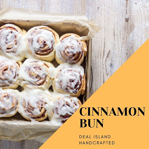Cinnamon Buns - Deal Island HandcraftedScented Candle - 4 oz., Single