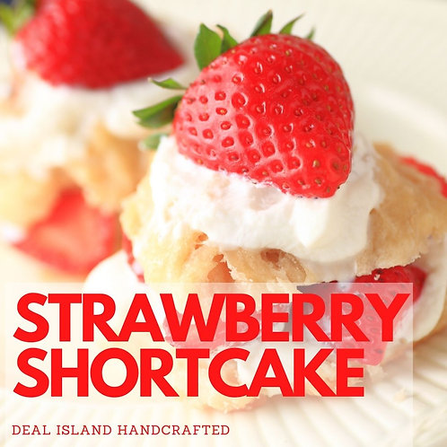 Strawberry Shortcake - Deal Island Handcrafted Scented Wax Melt, Single