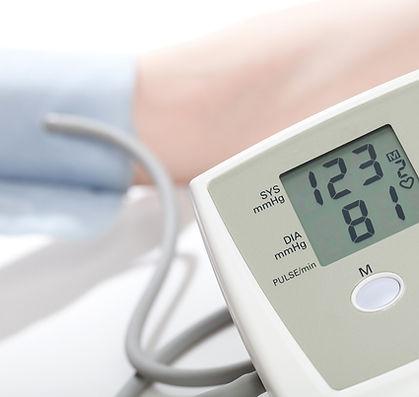 lector de la presión arterial