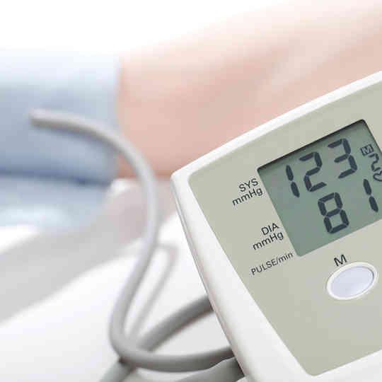 leitor pressão arterial
