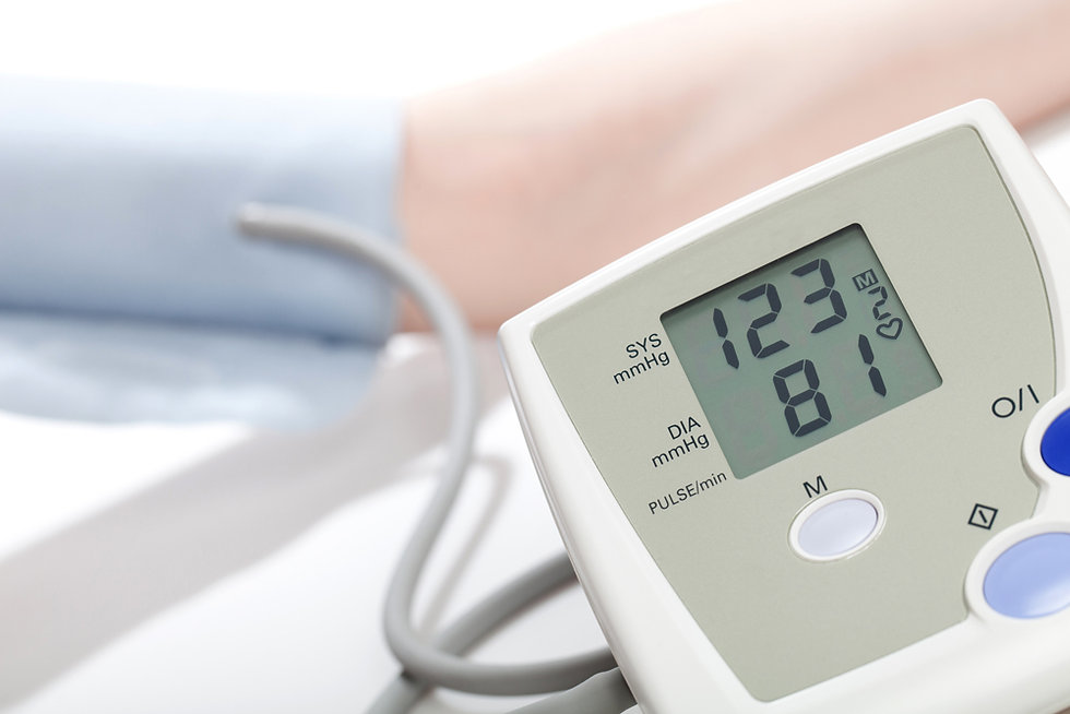 Blood pressure reader