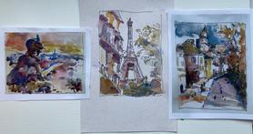 Lynda Spielman, My Virtual Trip to Paris