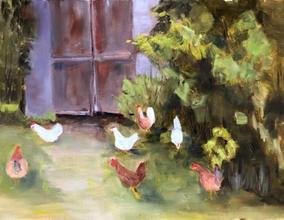 Debbie Shaw, Andrea's Chickens