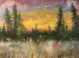 Sal Aiello, Mountain Top Sunset