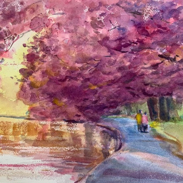 Lynda Spielman, April Walk