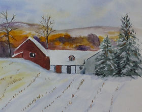 Winter scene with barns.JPG