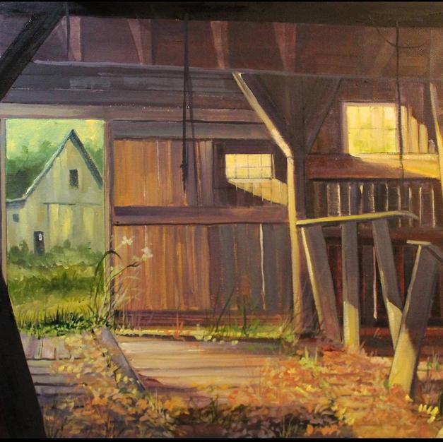 Interior Old Barn