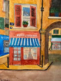 Michael Mirsky, Small Bookshop in Avignon