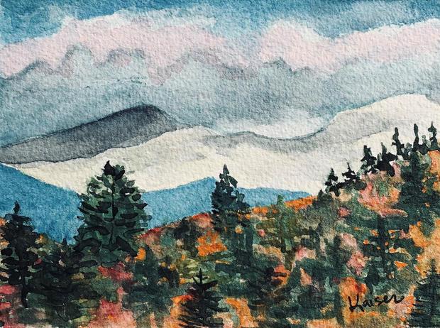 Lynne Kaiser , Autumn View