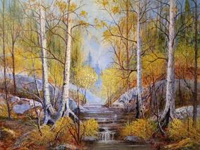 Pat Viglucci, Birches in the Wood