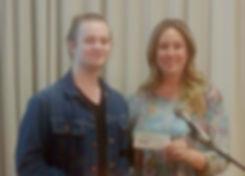 Scholarship winner Zephan Conway