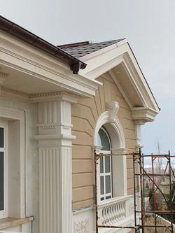 Усадьба в поселке Холмс, реконструкция и проект облицовки фасадов_04