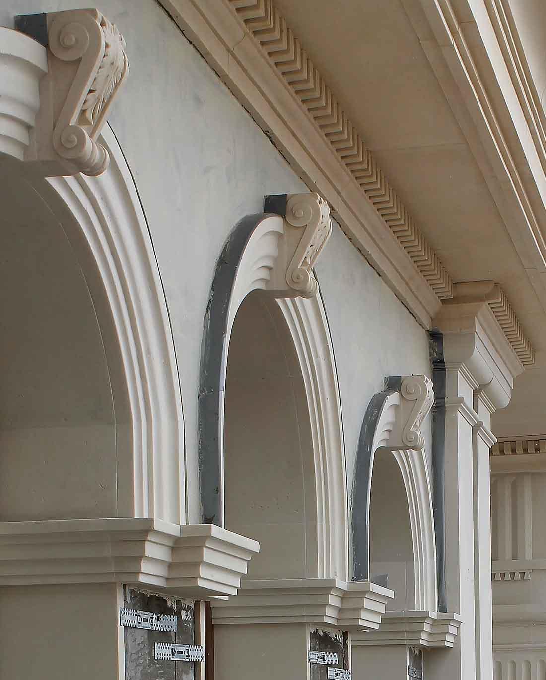 Усадьба в поселке Холмс, реконструкция и проект облицовки фасадов_05
