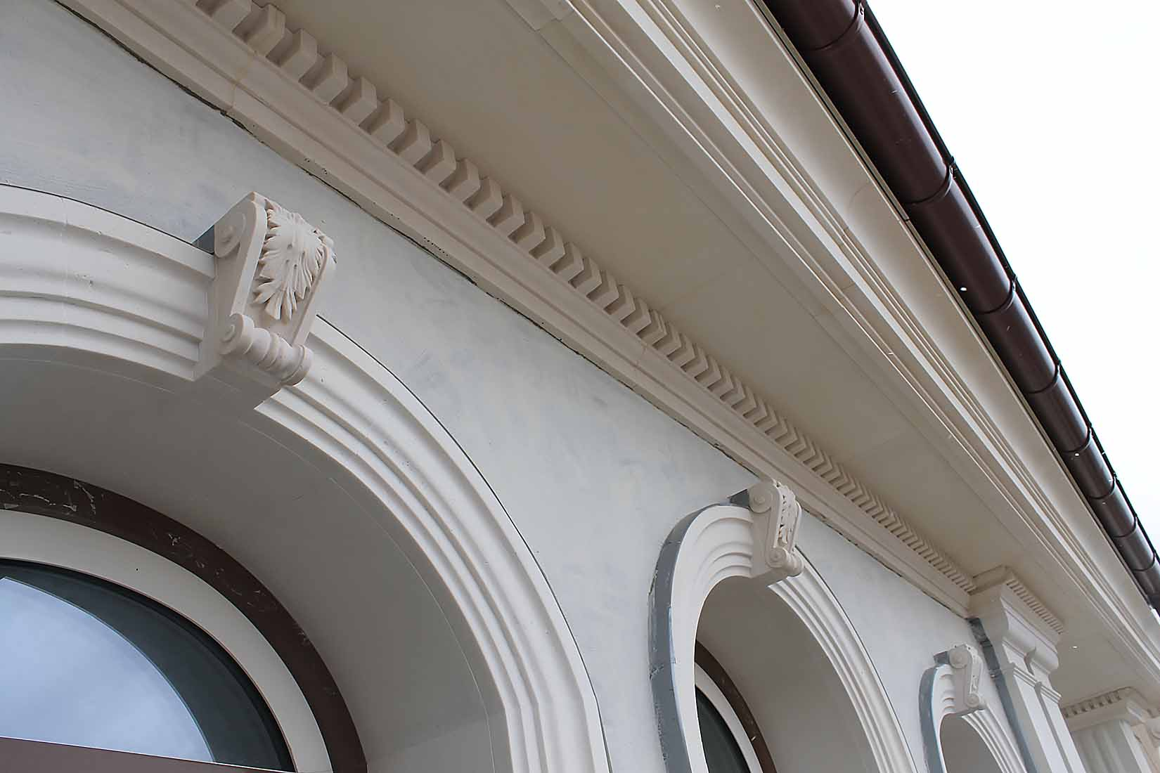 Усадьба в поселке Холмс, реконструкция и проект облицовки фасадов_12
