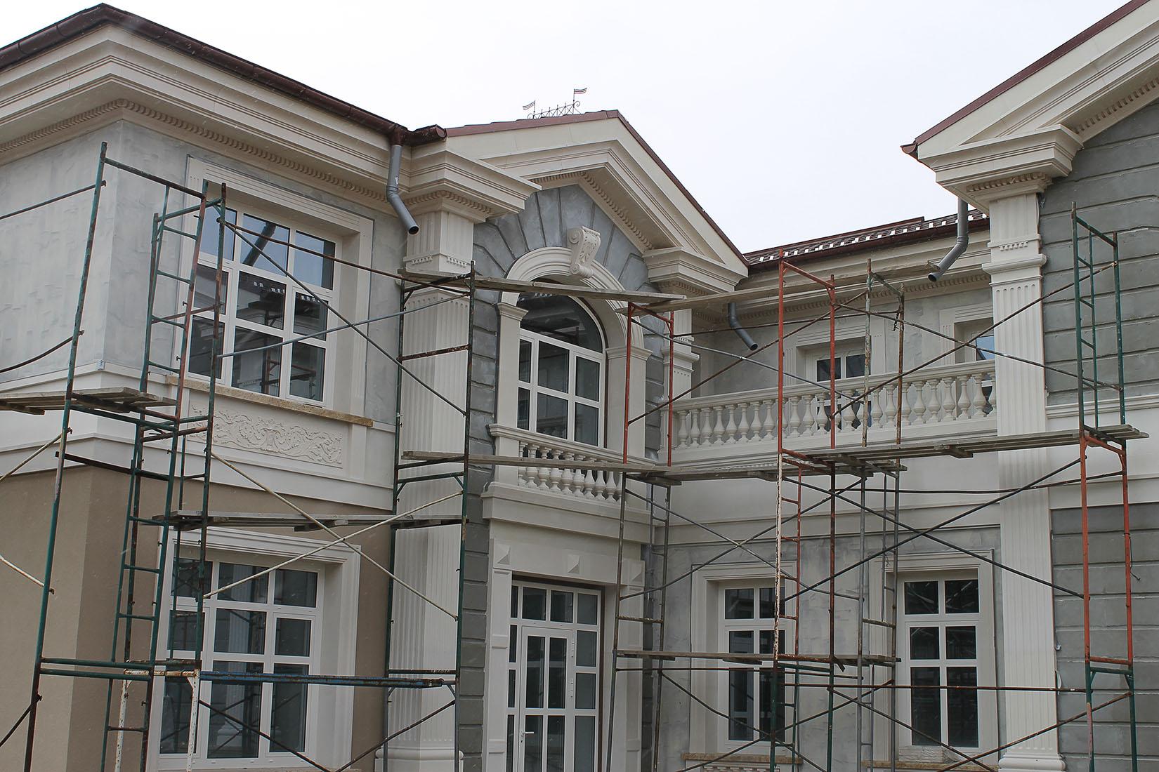 Усадьба в поселке Холмс, реконструкция и проект облицовки фасадов_06