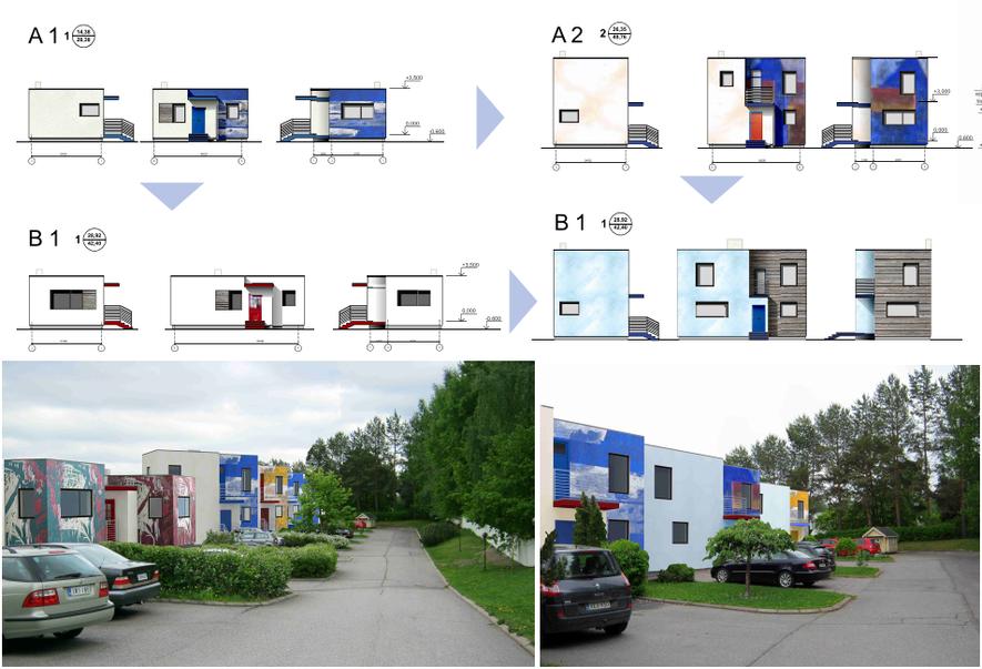Концептуальный проект жилые модули, 2013г.