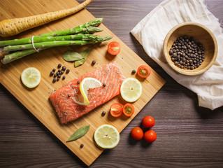 Salmon, Bacon and Gouda Gratin