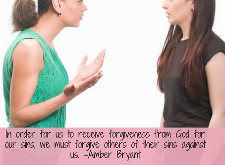 Thursday Therapy: Forgiveness Is A Command