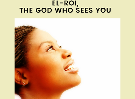 El-Roi, The God Who Sees You