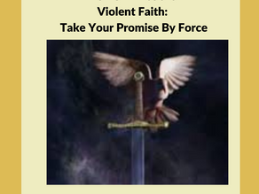 Violent Faith: Take Your Promise By Force