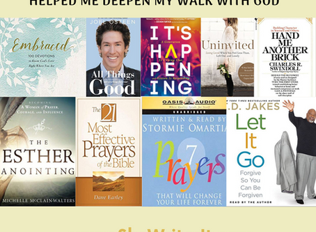 Christian Books That Helped Me Deepen My Walk With God
