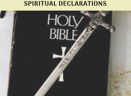 Exercise Your Authority In Christ: Spiritual Declarations