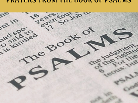 Prayers From The Book of Psalms