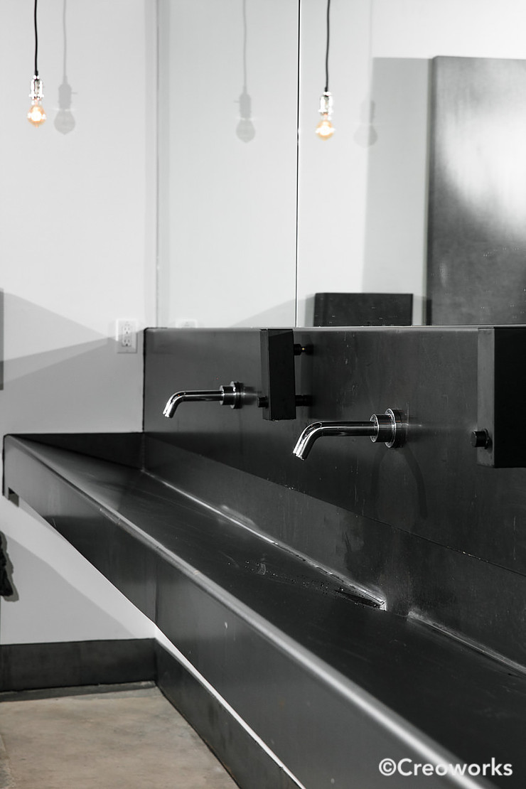Hot-rolled steel sinks