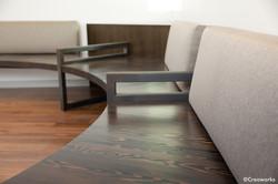 Industrial-grade modern bench