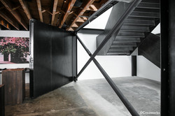 Rotating steel walls