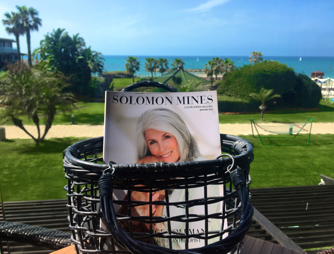 Solomon Mines Luxury Jewish Magazine
