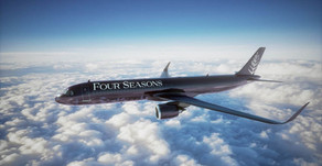 Preview: Inside THE FOUR SEASONS PRIVATE JET - Fully Customised Boeing 757 With 52 Flat-Beds