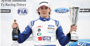 British Formula 3 Racing Talent Ayrton Simmons Seeks £100k Sponsorship To Reach F1 Goal