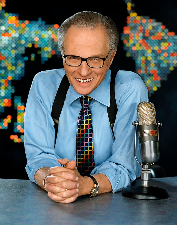 Larry King - Solomon Mines Luxury Jewish Magazine, Features (Picture Copyright Oratv.com)