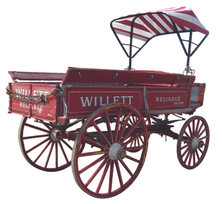 Willett Delivery Wagon