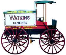 Watkins Peddler Wagon