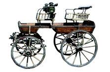 German Spindle Seat Buggy