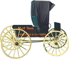 Moe Brothers Dry Goods & Groceries Buggy