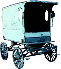 Ice Delivery Wagon