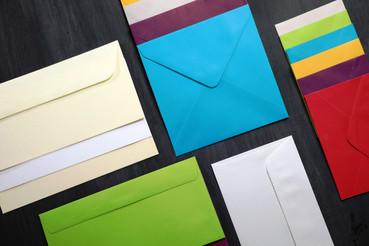 Un festival d'enveloppes