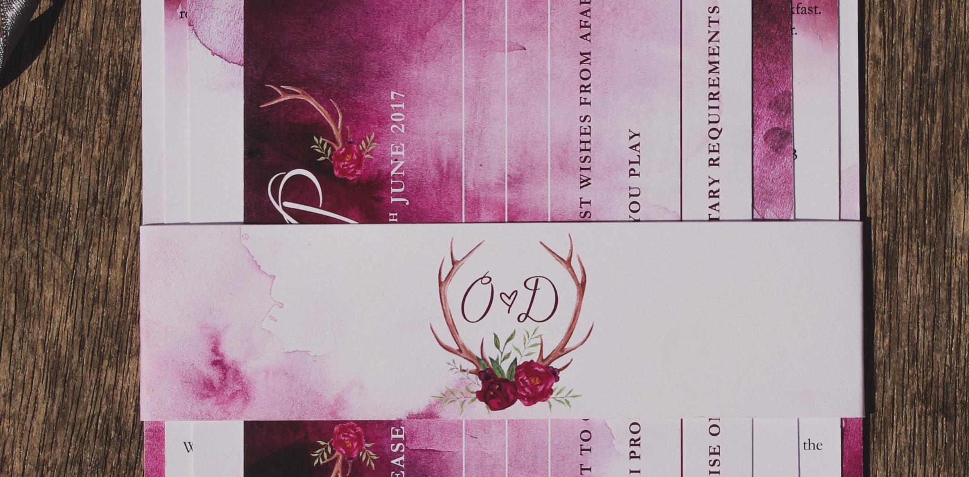 O&D Invitation Set