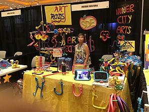 Art Rod booth