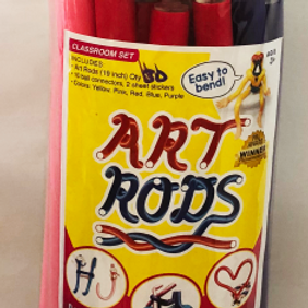 Art Rods™ Classroom (Letters and Numbers) with stickers and snaps