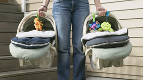 Reminder: Taking a cab with a baby? You need a car seat!
