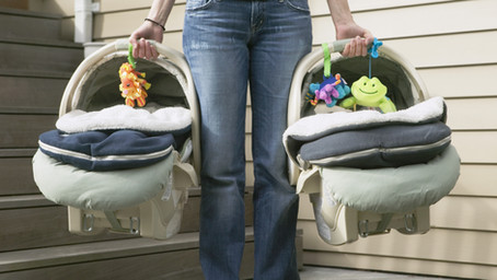 What to do with your baby's car seat after a crash?