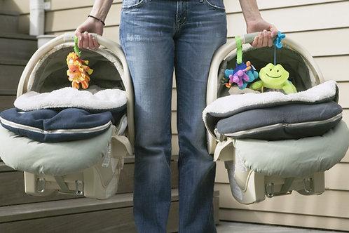 La Sicurezza dei Bambini in Auto + Il Mercato dei Seggiolini